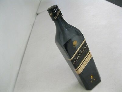 Rare Johnnie Walker Double Black Label Blended Scotch Whisky Empty Bottle~750Ml
