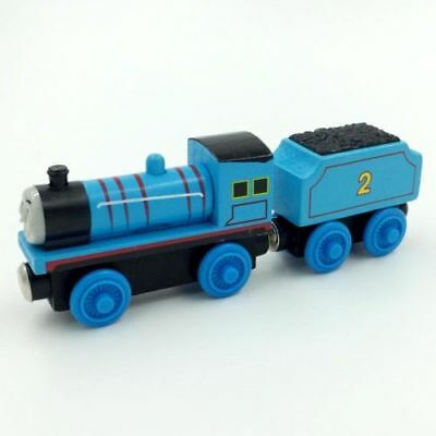 Edward Tender Wooden Magnetic The Tank Engine Railway Train Toy BEL kid Presents