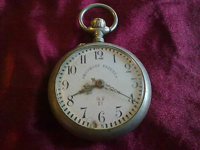 RARE-OLD POCKET WATCH roskopf-patent-SWISS