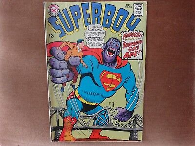 Superboy #142 - Superboy Goes Ape -  1967