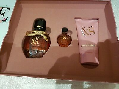 8b891f142b PACO RABANNE PURE XS for Her 50ml Eau de Parfum GIFT SET NEW 2018 IN ...