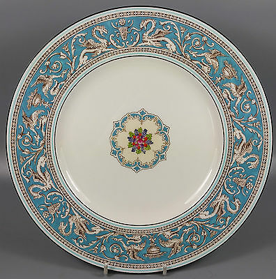 Wedgwood Florentine (Turquoise) W2714 Dinner Plate 27Cm (Perfect)