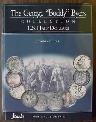 """Stack's - The George """"Buddy"""" Byers Collection of US Half Dollars, with PR"""