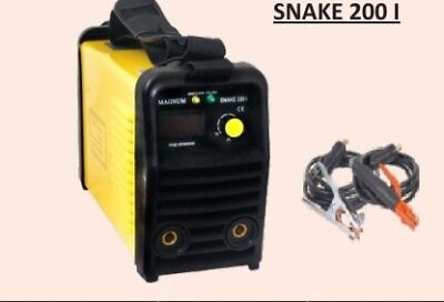 MAGNUM SNAKE 200I Inverter welder MMA 200 A welding machine TIG LIFT method