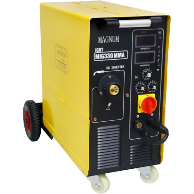 MAGNUM MIG 330 MMA IGBT semiautomatic welding machine 330A without gas