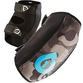 661 Comp AM Elbow Guards Black/Camo - Size Small