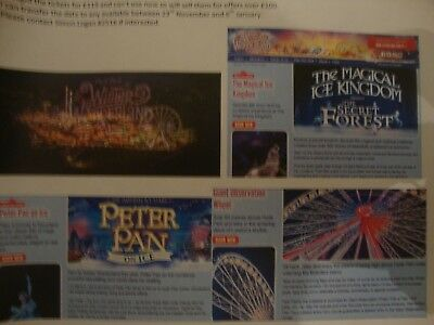 Save £19 onWinter Wonderland Ticket Attractions For 2 Adults 1 Child Peter Pan B