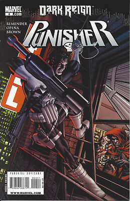3 Punisher Dark Reign # 4,(#5 Variant Edition) #6 Marvel 2009