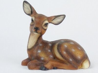 Vintage Harvey Knox Kingdom FAWN FIGURINE Porcelain Deer Japan