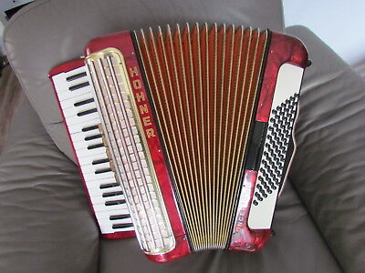 Akkordeon/ Accordion , Hohner, Concerto III  72 Bass Top Zustand