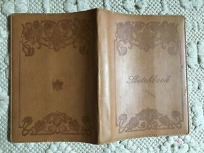 Exacompta Leather Embossed Sketch Book Cover