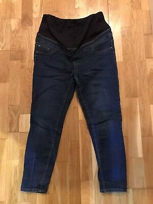New Look Ladies Womens Emilee Maternity Over Bump Jeggings Skinny Jeans Size 12