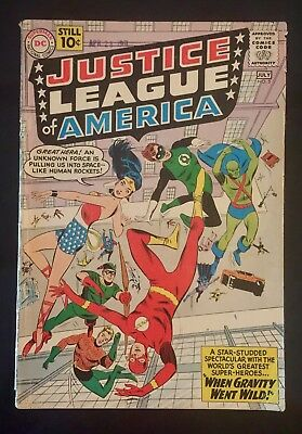 Justice League of America (1st Series) #5 1961 GD Plus