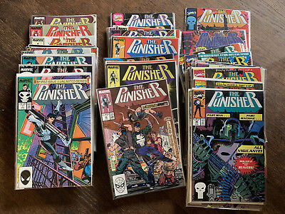 THE PUNISHER (1987) LOT of 99! Series RUN 1-51, War Journal 1-32, Armory & MORE