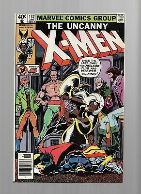 X-MEN 132 9.2 / 9.4 Bronze Age Glossy Cover Comic book WHITE PAGES