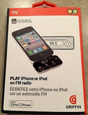 GRIFFIN iTRIP iPHONE iPOD NA22045 FM RADIO WIRELESS TRANSMITTER