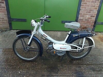 old vintage Raleigh runabout moped barn find