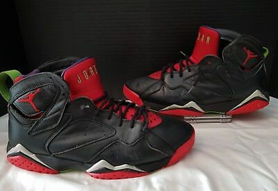 quality design 74294 0f019 Nike Air Jordan 7 Vii Retro Marvin The Martian Raptors Black 304775-029  Mens 10