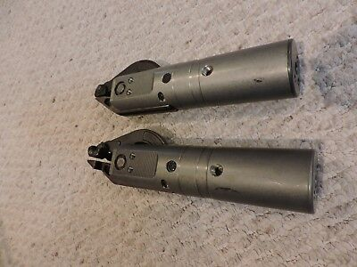 LOT OF TWO BTM Pneumatic Locking Gripper 45-30, 730212A, LIGHT USE AT MOST!
