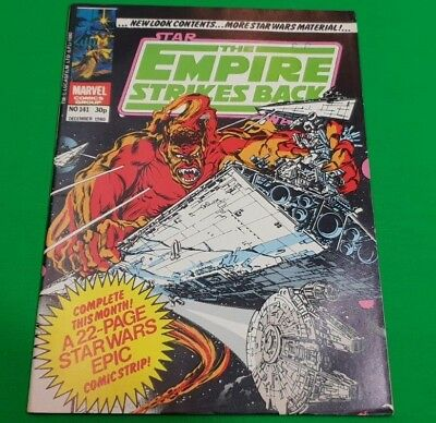 The Empire Strikes Back Monthly ***VGC - ISSUE 141!!*** Marvel 1980 Star Wars