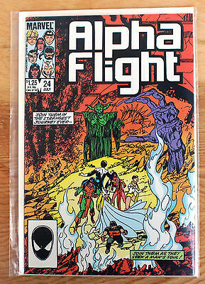 Alpha Flight #24 (Jul 1985, Marvel)
