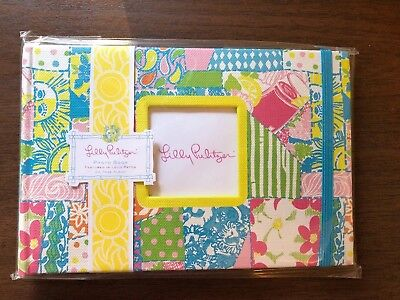 NIP New In Package Lilly Pulitzer Photo Album Book In Loco Patch