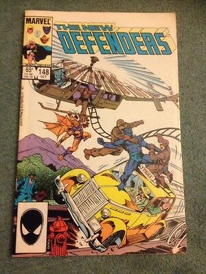 The New Defenders #148 Marvel Comics