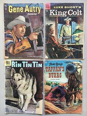 Dell Western Group,  Gene Autry 68, King Colt 651, Rin Tin Tin 17, Zane Grey 449