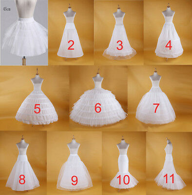 2019 Wedding Petticoat Bridal Hoop Crinoline Prom Underskirt Fancy Skirt Slip