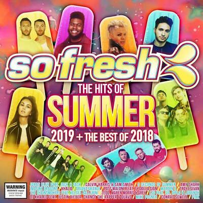 Various Artists - So Fresh: The Hits Of Summer 2019 + The Best Of 2018 (CD DO...