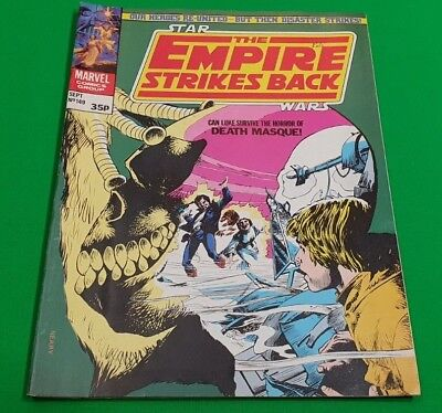 The Empire Strikes Back Monthly ***VGC - ISSUE 149!!*** Marvel 1981 Star Wars
