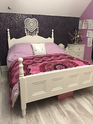 Victorian Hand Painted Bed