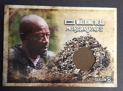 2018 Topps AMC The Walking Dead Morgan Jones Relic Card RC-MJ