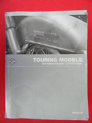 Harley Davidson 2007 TOURING Models SERVICE MANUAL  99483-07