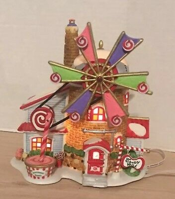 Dept. 56 North Pole Series THE CHRISTMAS CANDY MILL # 56762 Lighted and Animated