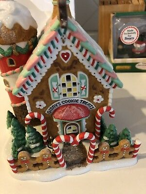 """Dept 56 North Pole  """"Ginny's Cookie Treats Set""""  ELFLAND #56732 //New In Box//"""