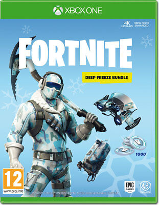 Fortnite Deep Freeze Bundle Xbox One Key