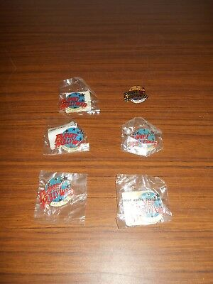 Planet Hollywood Pins - Lot of 6