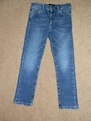 Authentic Dolce & Gabbana Blue Cotton Blend  Jeans   Size 4-5 years