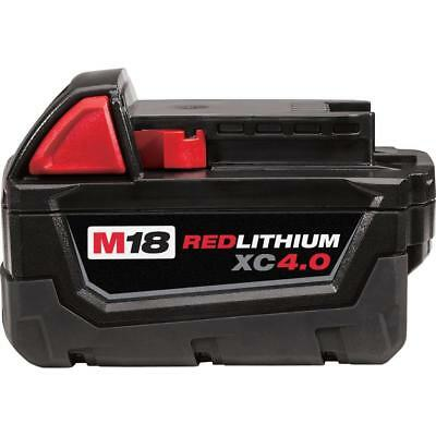 Milwaukee 48-11-1840 M18 18V Red Lithium Ion XC Battery 4.0Ah *NEW* GENUINE