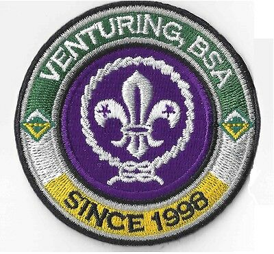 Venturing, BSA Since 1998 RING & World Crest - Private Issue Non BSA V RING