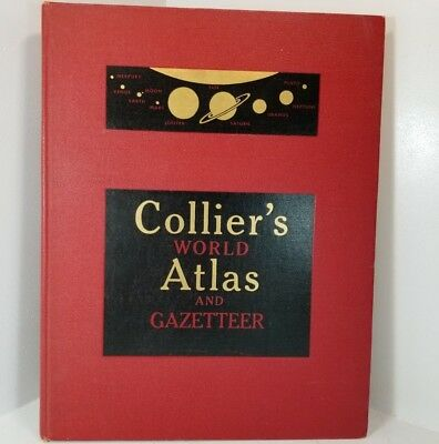 Collier's World Atlas and Gazetteer New York: P. F. Collier & Son, 1955
