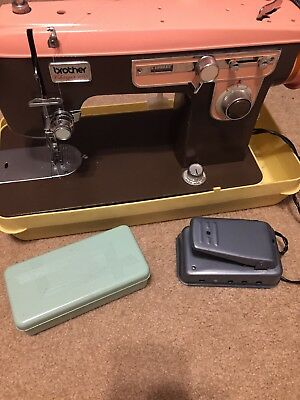 VINTAGE BROTHER CHARGER 40 Heavy Duty Sewing Machine Leather Denim New Brother Charger 651 Sewing Machine Manual