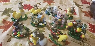 """Charming Tails Lot Set of 10 """"Easter style"""""""