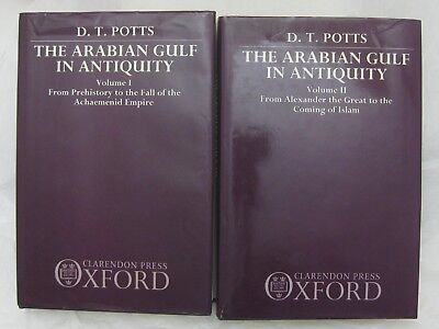 The Arabian Gulf in Antiquity Vol 1 and Vol 2  DT Potts *Very Good*  Inspected