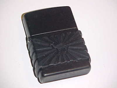 Zippo Lighter-Camel Cigarettes-Camel Zip Rubber Guard-Used-Works-Original