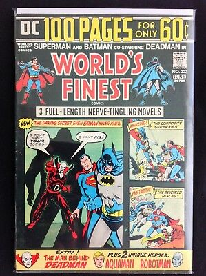 WORLD'S FINEST #223 Lot of 1 DC Comic Book - Superman & Batman - 100 Pages!