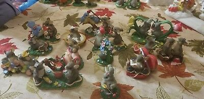 """Charming Tails Lot Set of 14 """"valentines style"""""""