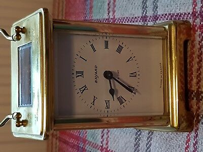 Beautiful Antique French 8 Day Duvardray & Bloquel Carriage Clock (not working )