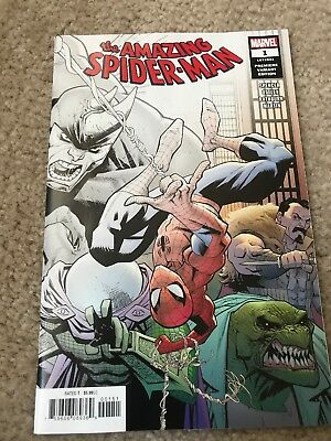 Amazing Spider-Man #1 Premiere Variant Two Per Store First Issue Collectors Item